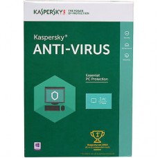 Antivirus Kaspersky 2017 1-DS 1 Year Box